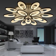 Lights & Lighting Ceiling Lights Sufitowe Plafon Lamp For Living Room Moderne Lampen Modern Vintage Led Luminaria Teto Lampara De Techo Plafonnier Ceiling Light Vivid And Great In Style