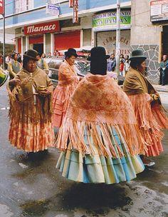 Dance in La Paz Bolivia.
