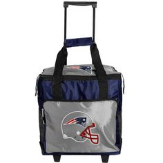 Pin it! :) Follow us :)) CLICK IMAGE TWICE for Pricing and Info :) SEE A LARGER SELECTION of camping coolers at   -  hunting, camping accessories, camping insulated bags, coolers, camping gear, camp supplies - NFL New England Patriots Mobilize Cooler « zCamping.com