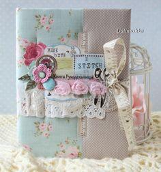 My Soul - творческая мастерская Галины Проценко: Нежная открытка и Книга Рукодельницы