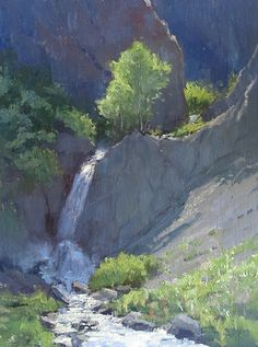 Meltwater by Kathleen Dunphy Oil ~ 16 x 12