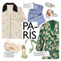 """Paris"" by punnky ❤ liked on Polyvore featuring Miu Miu, Rochas, Bottega Veneta, Essie and Haute Hippie"