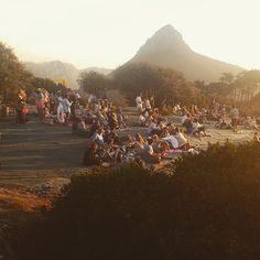 Sundowners on Signal Hill Signal Hill Cape Town, Dolores Park, Africa, Dreams, Landscape, City, Travel, Scenery, Viajes