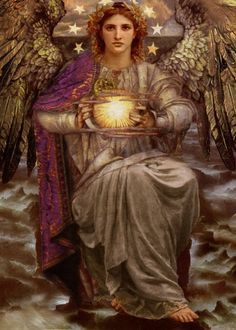 """""""ANGEL PROPHECY"""" Art and a brief introduction to Angelology; New Pictures of Angels.By: Howard David Johnson featuring oil paintings, prismacolors and digital media. Angels Among Us, Angels And Demons, Catholic Art, Religious Art, San Uriel, I Believe In Angels, Ange Demon, Realistic Paintings, Oil Paintings"""