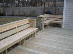 saw an outdoor bench in a magazine tonight and realized we could do something like that!