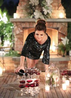 Christmas at Tiffani's | Jill Smith & Tiffani Thiessen | Photography by Elizabeth Messina
