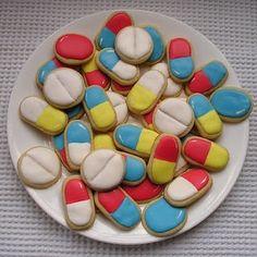 Me gusta galletas de pastillas, no problemas ahora!