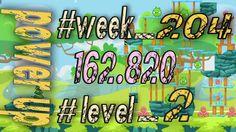 Angry Birds Friends Tournament Week 204  Level 2   power up  HighScore (...