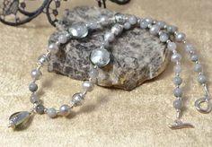 Pearl, Gemstone & Murano Glass Necklace £39.50