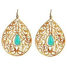 Signature Byzantine Drop Earrings
