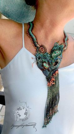 https://www.etsy.com/shop/LynnParpard?ref=pr_shop_more One of a Kind ART Piecs made one bead at a time