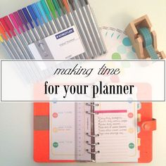 great tips to help you stay focused and on track with planning!