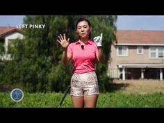 [Golf with Aimee] Aimee's Golf Lesson 003- A Secret to Perfect Grip - YouTube