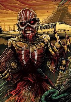 Iron Maiden - The Book of Souls Tour | fan or official art?