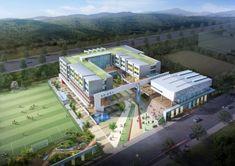 University Architecture, Education Architecture, School Architecture, Architecture Plan, School Building Design, School Design, Conceptual Model Architecture, Compound Wall Design, House Gate Design