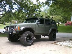The spray/rattle can paint job XJ Army post-up - Page 2 - Jeep Cherokee Forum