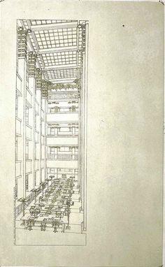 Frank Lloyd Wright at the Guggenheim: The Larkin Building by Frank Lloyd Wright
