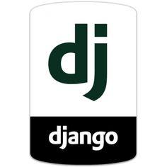 Django Python Framework badge sticker