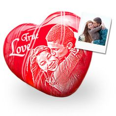 Das Edelsteinherz mit Gravur ist ein liebevolles und romantisches Geschenk für den Partner. Passend zum Valentinstag, zum Geburtstag oder zu Weihnachten.