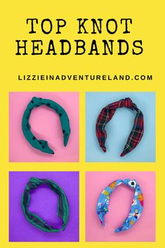 I'm excited to announce that top knot headbands are now available in my Etsy Shop! I've released 4 patterns to start…with more on the way! Looking for a specific pattern? Disney Vacation Club, Disney Travel, Disney Vacations, Disney Trips, Disney Parks, Walt Disney, Packing Tips For Travel, Travel Essentials, Knot Headband