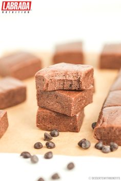 This gluten-free Healthy Nutella Protein Fudge is super sweet, chewy, rich, and delicious, yet it's made without the butter, refined sugar, and corn syrup.