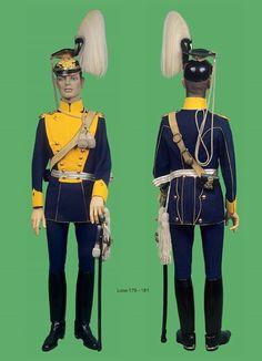 Prusia 11º Lanceros (2º Brandenburgo) Cuenta Haeseler 1910 Saar castillo. Teniente