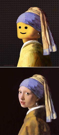 La joven de la perla de Jan Vermeer
