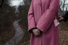 Kersti K Annie Leibovitz, Aesthetic Girl, Duster Coat, Raincoat, Female, Photography, Color, Sweden, Dip