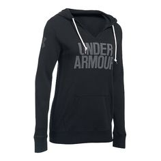 The Under Armour Plus Favorite Fleece Women's Pullover Hoodie is made of an…