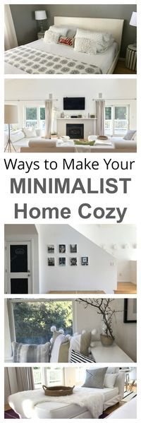 Yes, your home can be both minimalist and cozy! Take a full house home tour of a gorgeous Scandinavian minimalist styled home for inspiration. #homedecorating #DIYdecorating #decoratingideas #scandinavianhome #cozyhome #budgetdecorating #decoratingonabud