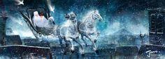 çizgili masallar: Cho Yong-Joon, The Snow Queen