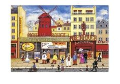 Moulin Rouge by Bin Kashiwa