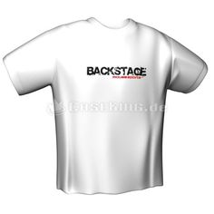 MOUSESPORTS BACKSTAGE T-Shirt White
