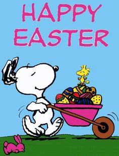 Peanuts Easter...:-)   #Snoopy #Peanuts