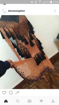 Latin Ballroom Dresses, Ballroom Costumes, Ballroom Dance Dresses, Ballroom Dancing, Dance Costumes, Latin Dresses, Crystal Dress, Cute Costumes, Dance Fashion