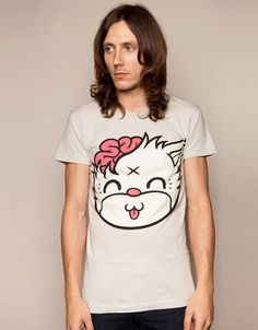 Mascot Kitty - Grey, Drop Dead Clothing  #DDPINTOWIN