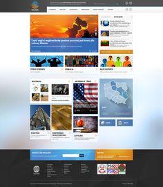 Portal internetowy - projekt i wdrożenie. Webmedio.  #shale_gas #portal  #news_layout  http://www.webmedio.pl/