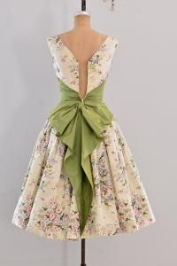 vintage 1950s party dress                                                                                                                                                                                 More