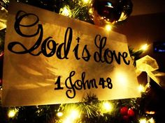 We love because He first loved us. And His love in us loves others.