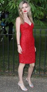 Celebrities en la fiesta The Serpentine Gallery 2013: Georgia May Jagger