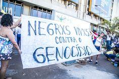 Segundo a pesquisa, os jovens negros têm 2,5 vezes mais riscos de morte do que um jovem branco no Brasil.