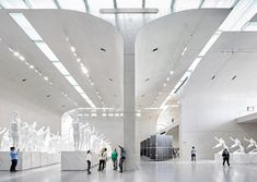 Long Museum West Bund by Deshaus photographed by Hufton + Crow