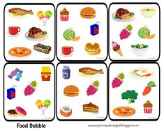 Kid friendly healthy recipes for picky eaters 2017 free episodes English Fun, English Lessons, Visual Perception Activities, Poker Party, Card Tattoo, School Games, Animal Crafts, Science For Kids, Speech And Language