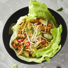 Ignite your taste buds with these Vegan Tofu Lettuce Cups (San Choy Bow)! Packed with flavourful ingredients, these would rock at your next dinner party!