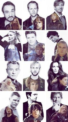 lotr i like them when they are all lord of the ring