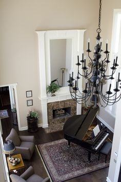 Beautiful view of living room at 12 Harbour Town Court, Frisco, TX http://www.briggsfreeman.com/search/property-details.asp?pn=21393