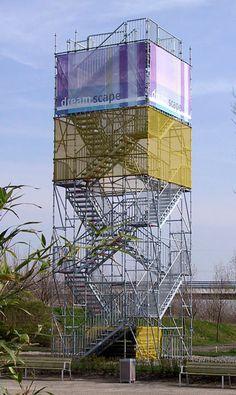 Torre de escalera Layher