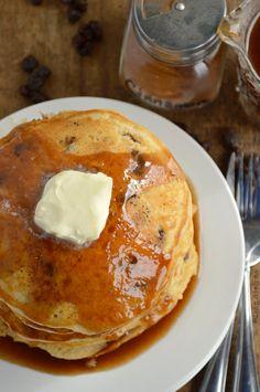Cinnamon Raisin Pancake Recipe