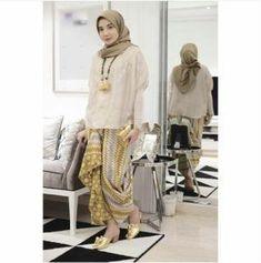 Kebaya Hijab, Batik Kebaya, Kebaya Muslim, Muslim Dress, Batik Dress, Hijab Dress, Hijab Outfit, Kulot Batik, Kebaya Brokat