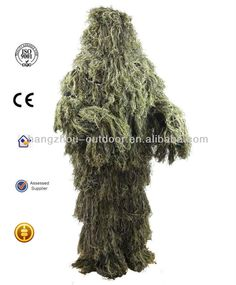 Military Equipment (Ghillie suit) for Snipers and Police $18~$20